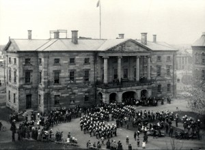 82nd  AT PROV HOUSE 1899 Closing of Legislature